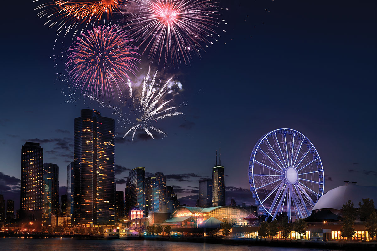 2019 Fireworks Schedule: Weekly Fireworks in Chicago | Navy Pier