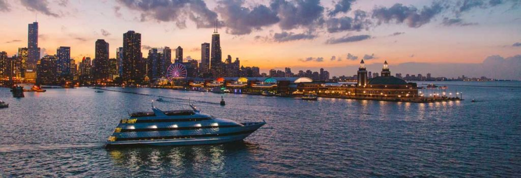 Odyssey Lake Michigan Dinner Cruises