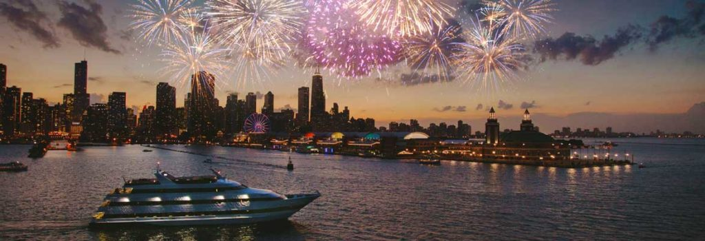 Odyssey Lake Michigan Fireworks Dinner Cruises