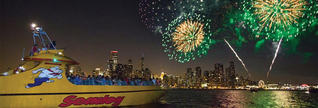 Seadog Fireworks Cruises