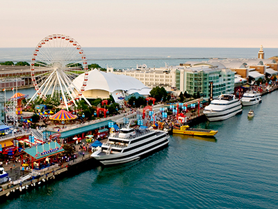 On the Horizon:  Cruises at Navy Pier