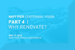 Navy Pier Centennial Vision - Part 4 Why Renovate?