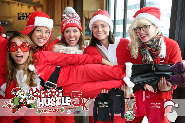 Santa Hustle® Chicago 5k and Kids Dash