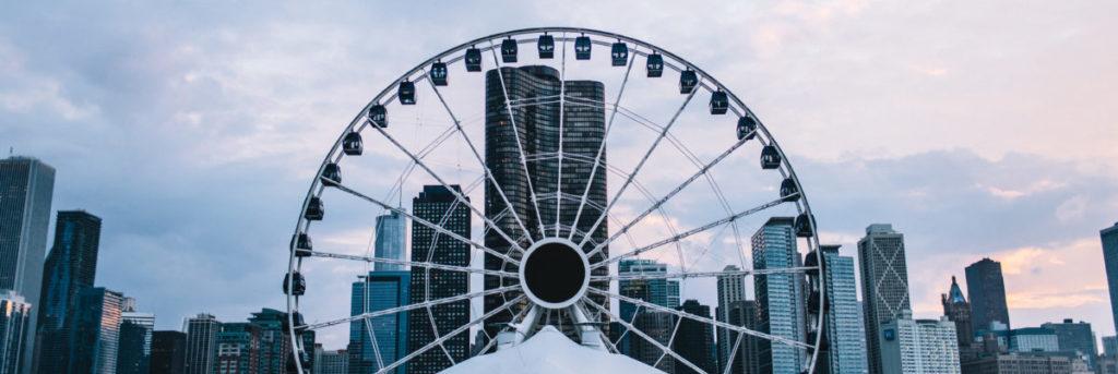 Centennial Wheel Blue Man Group Ticket Offer