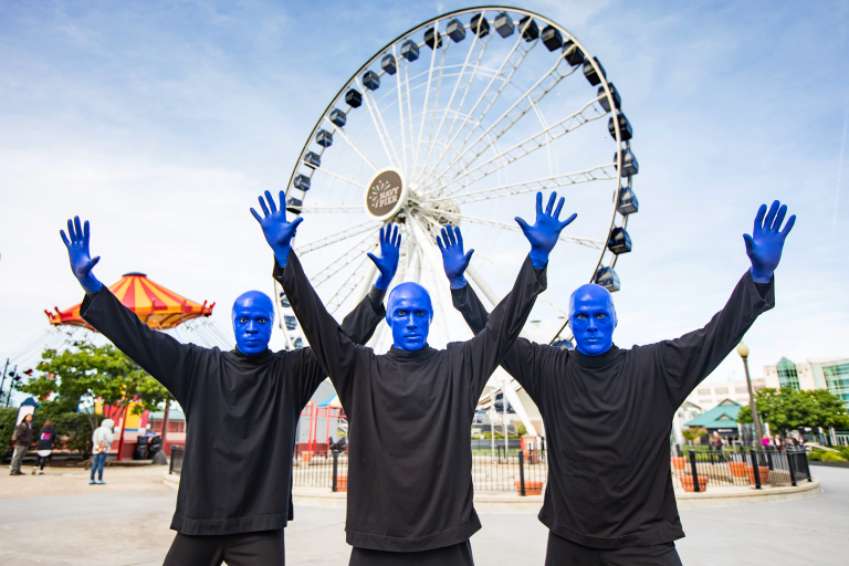 Centennial Wheel Blue Man Group Ticket Offer