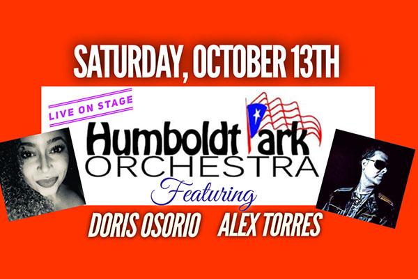 Humboldt Park Orchestra Featuring Vocalists Alex Torres and Doris Osorio to perform at Sequence Chicago at Navy Pier.