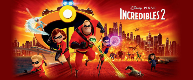 Water Flicks | The Incredibles 2