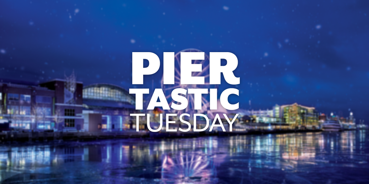 Discover Great Deals<br>on Piertastic Tuesdays