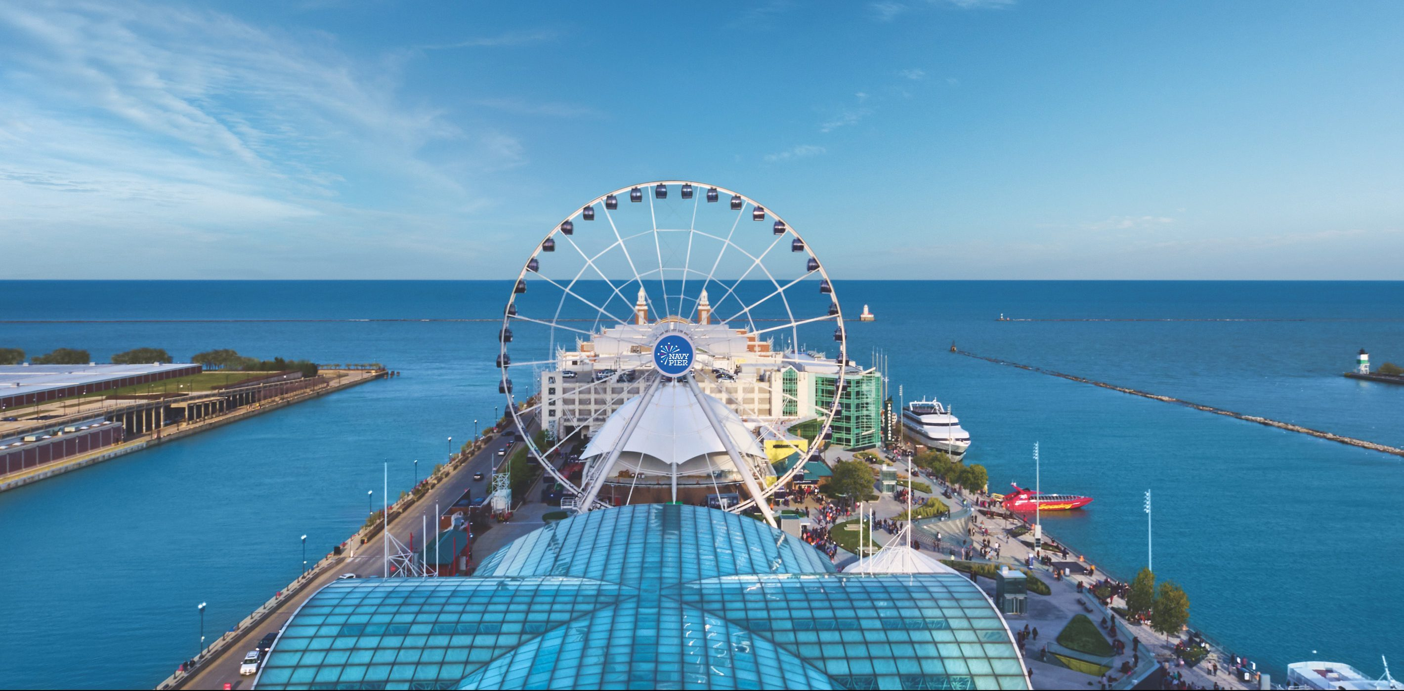 Navy Pier Debuts New Logo to Commence Brand Revolution