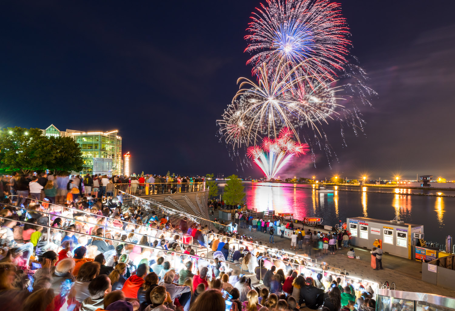 Navy Pier Celebrates Fourth of July with Signature Fireworks Display and Two Days of Free Live Music
