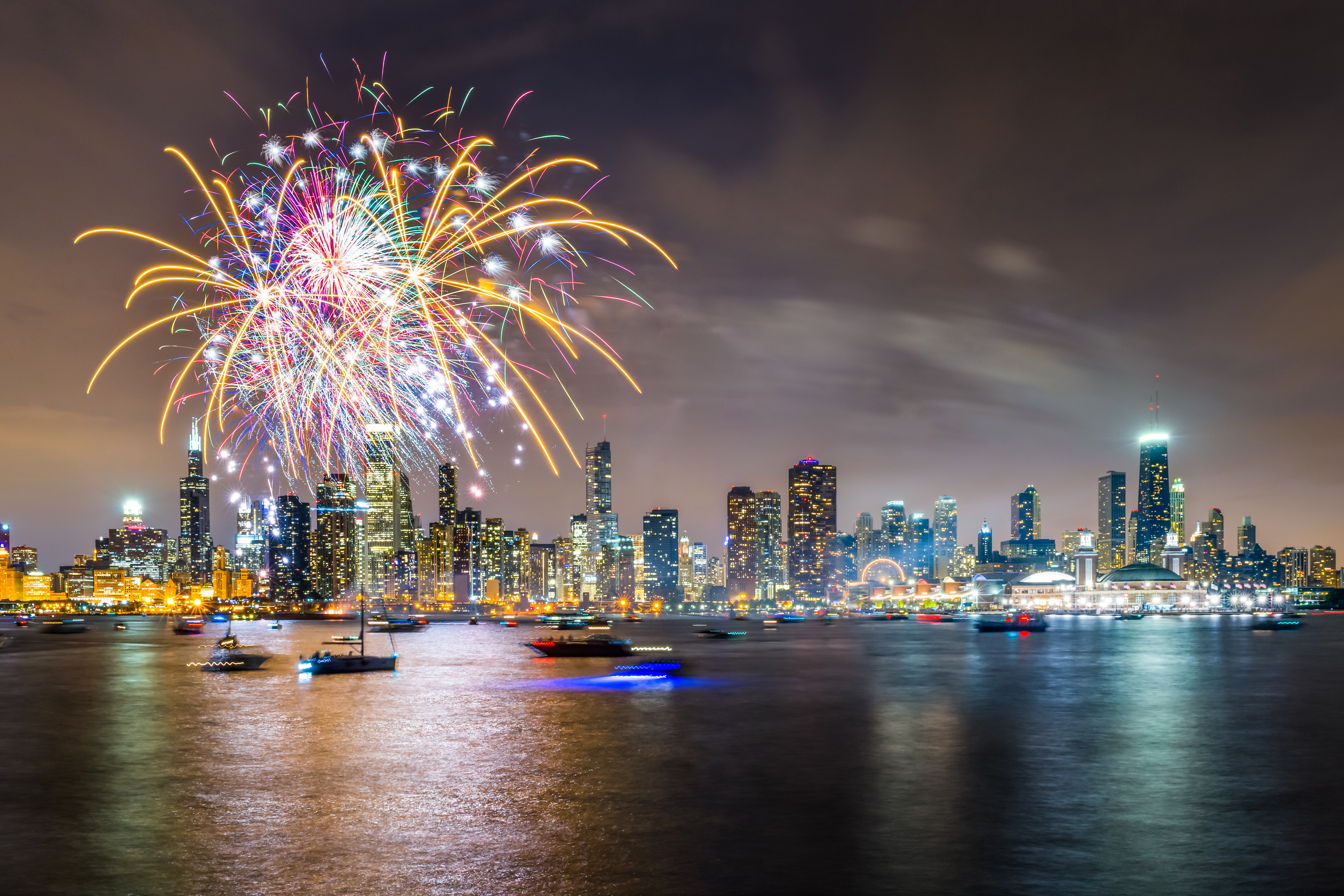 4th Of July Fireworkspresented By Miller Lite Navy Pier