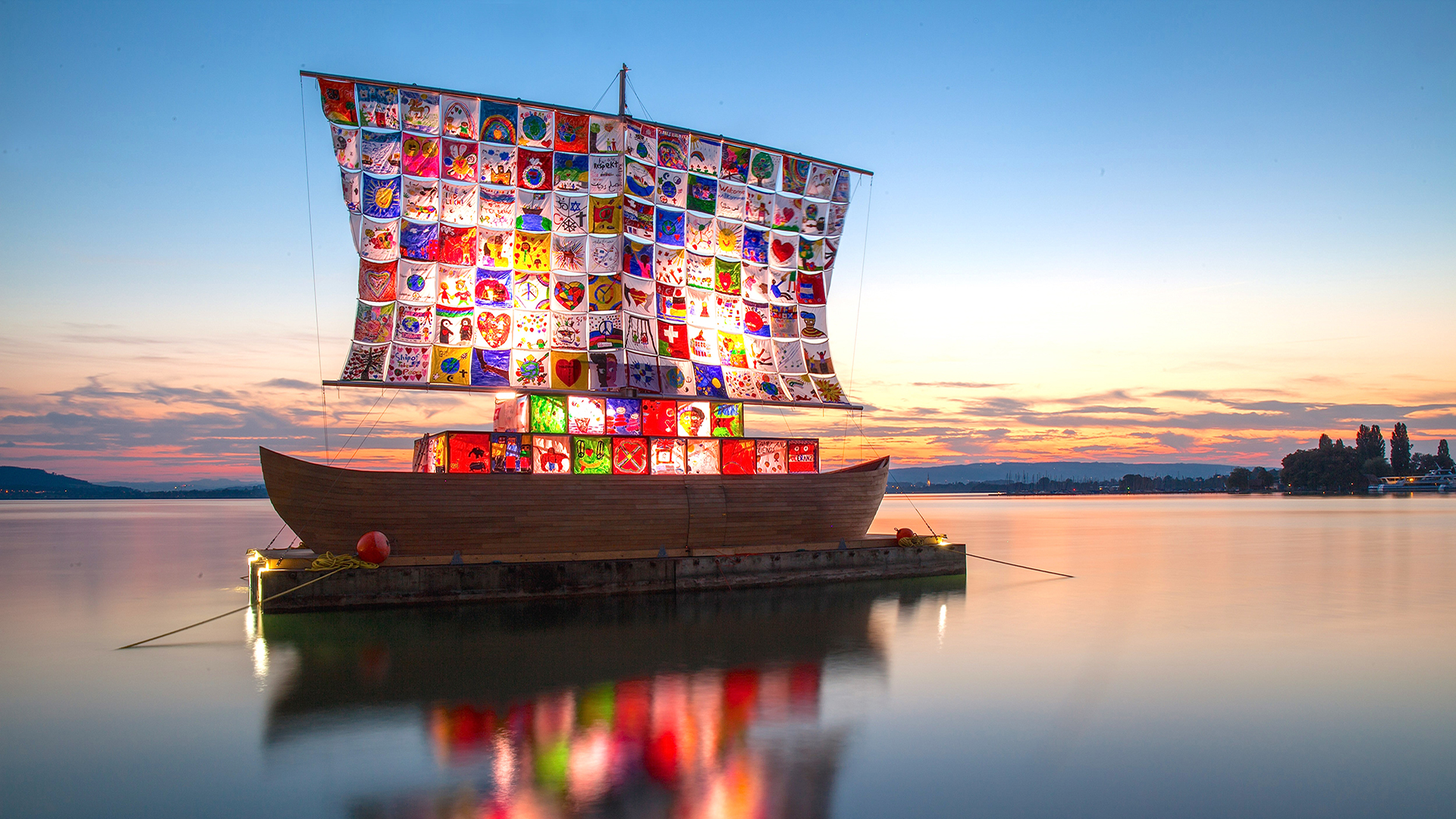 """""""The Ship of Tolerance"""" Sails onto Navy Pier Fall 2019 in Partnership with EXPO CHICAGO"""