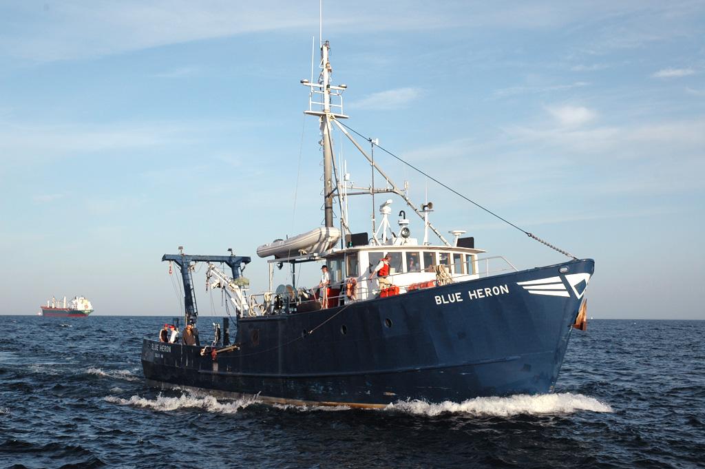 Navy Pier Hosts Research Vessel Blue Heron on August 3