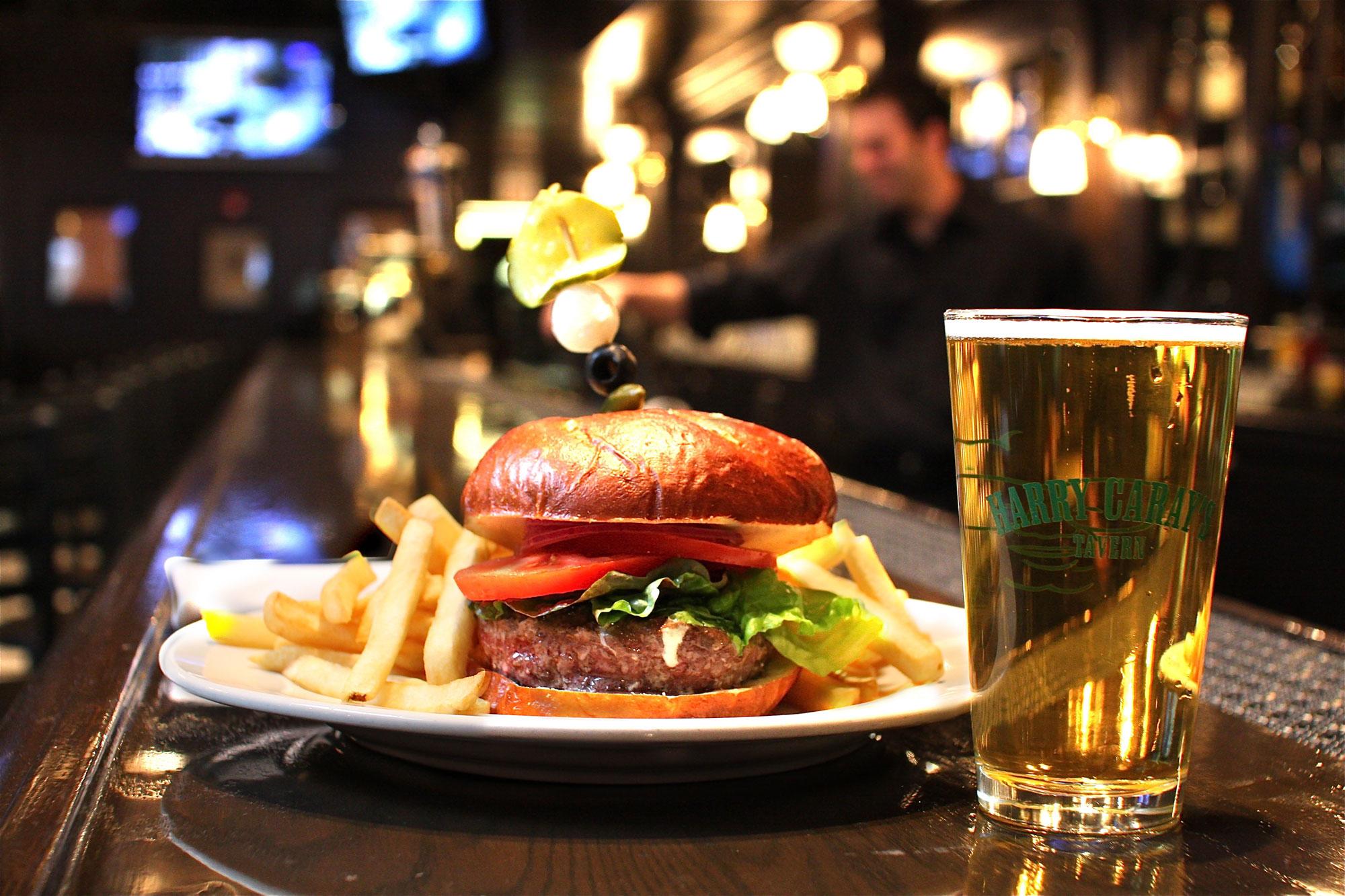 Celebrate National Cheeseburger Day at Navy Pier