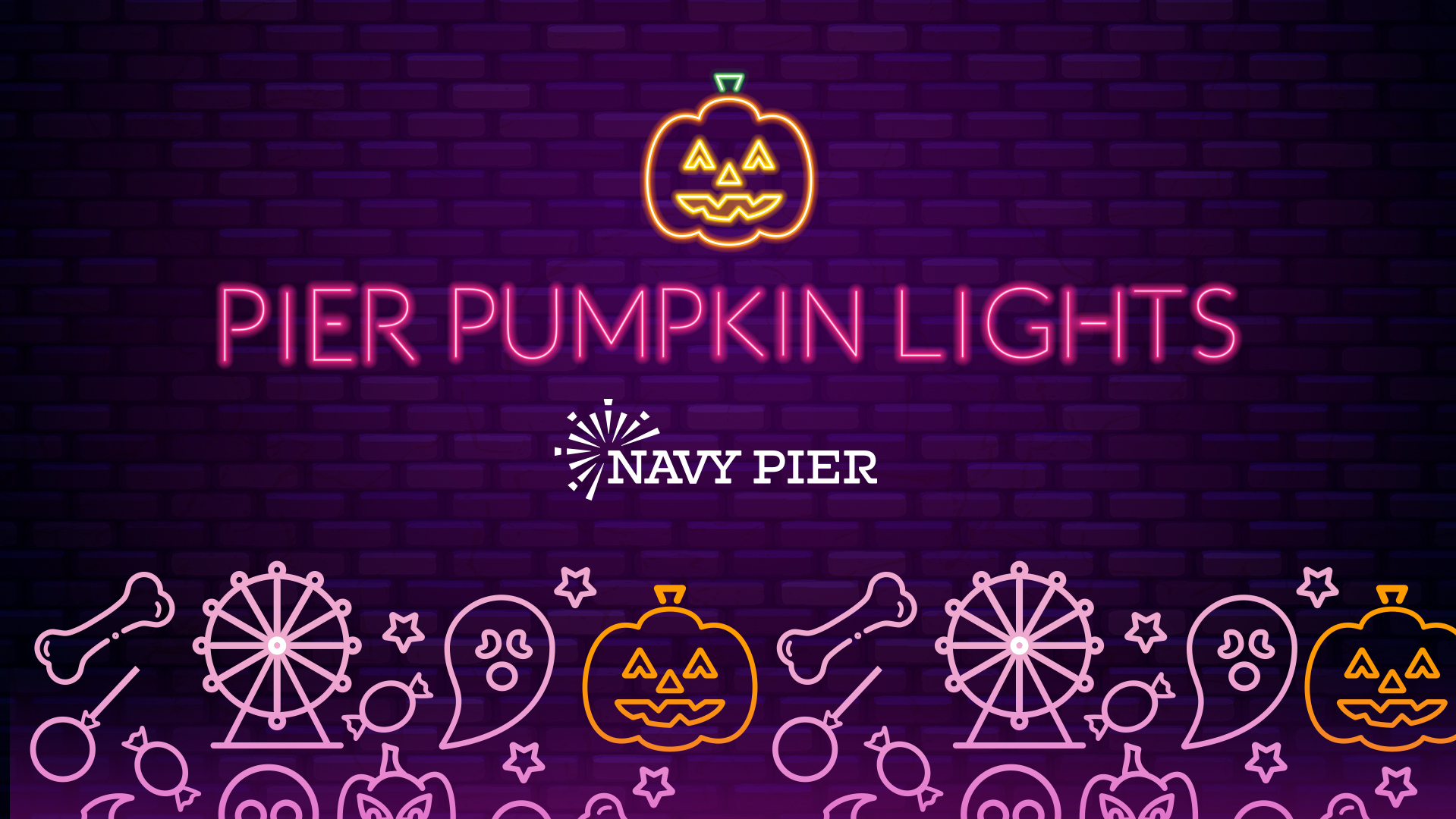 Pier Pumpkin Lights