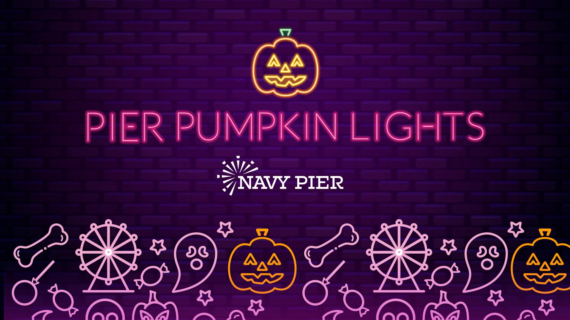 Navy Pier Presents Pier Pumpkin Lights: Chicago's Newest, Free Pumpkin Pop-up Experience
