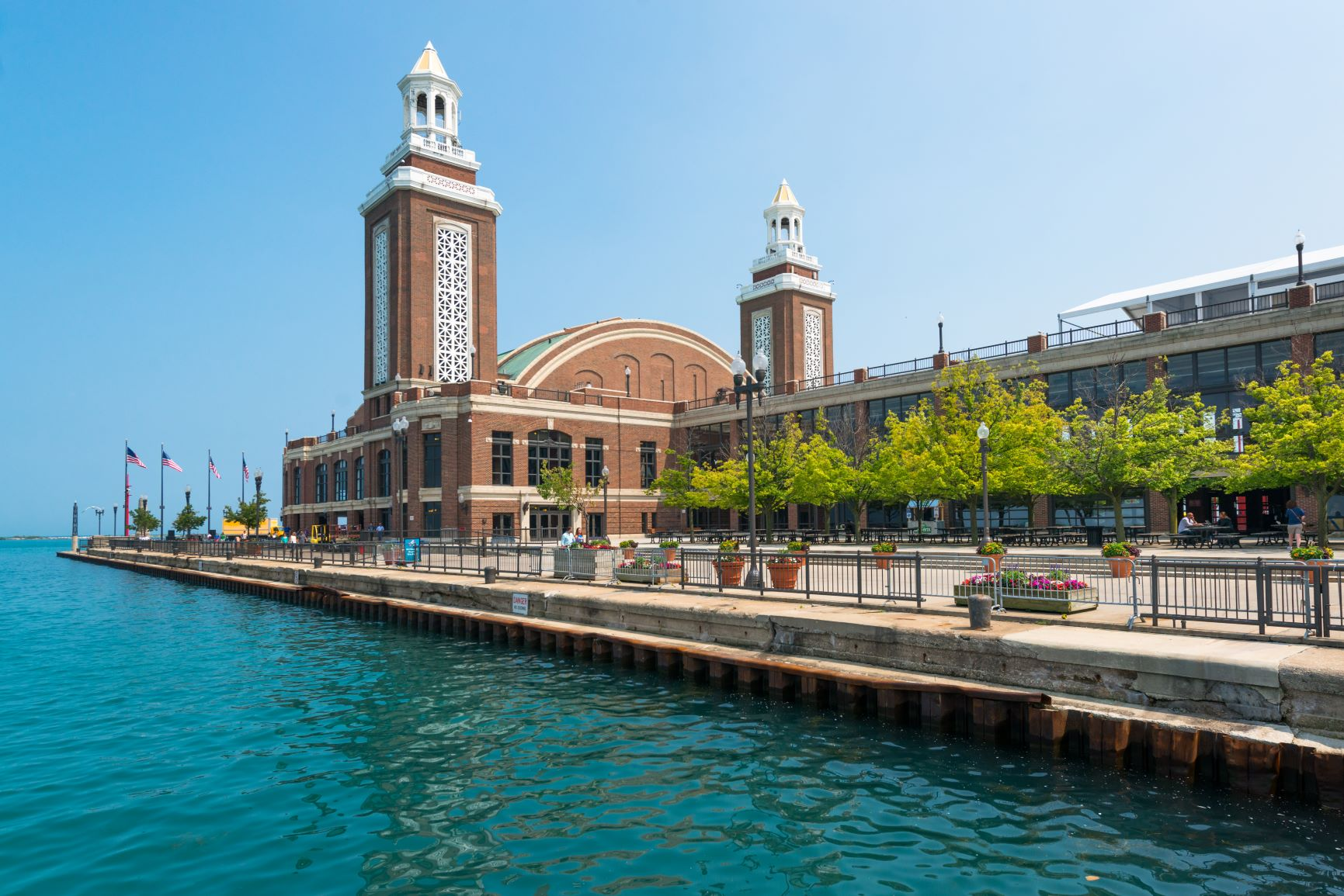 Fishermen's Guide to Navy Pier