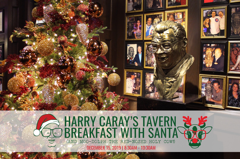 Breakfast with Santa at Harry Caray's Tavern