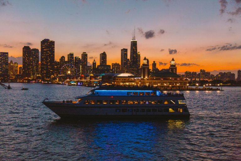 Mystic Blue – New Year's Eve Fireworks Cruises