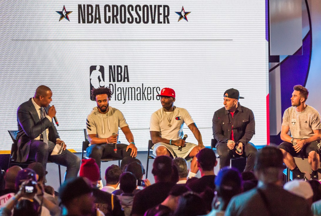 NBA Crossover at Navy Pier