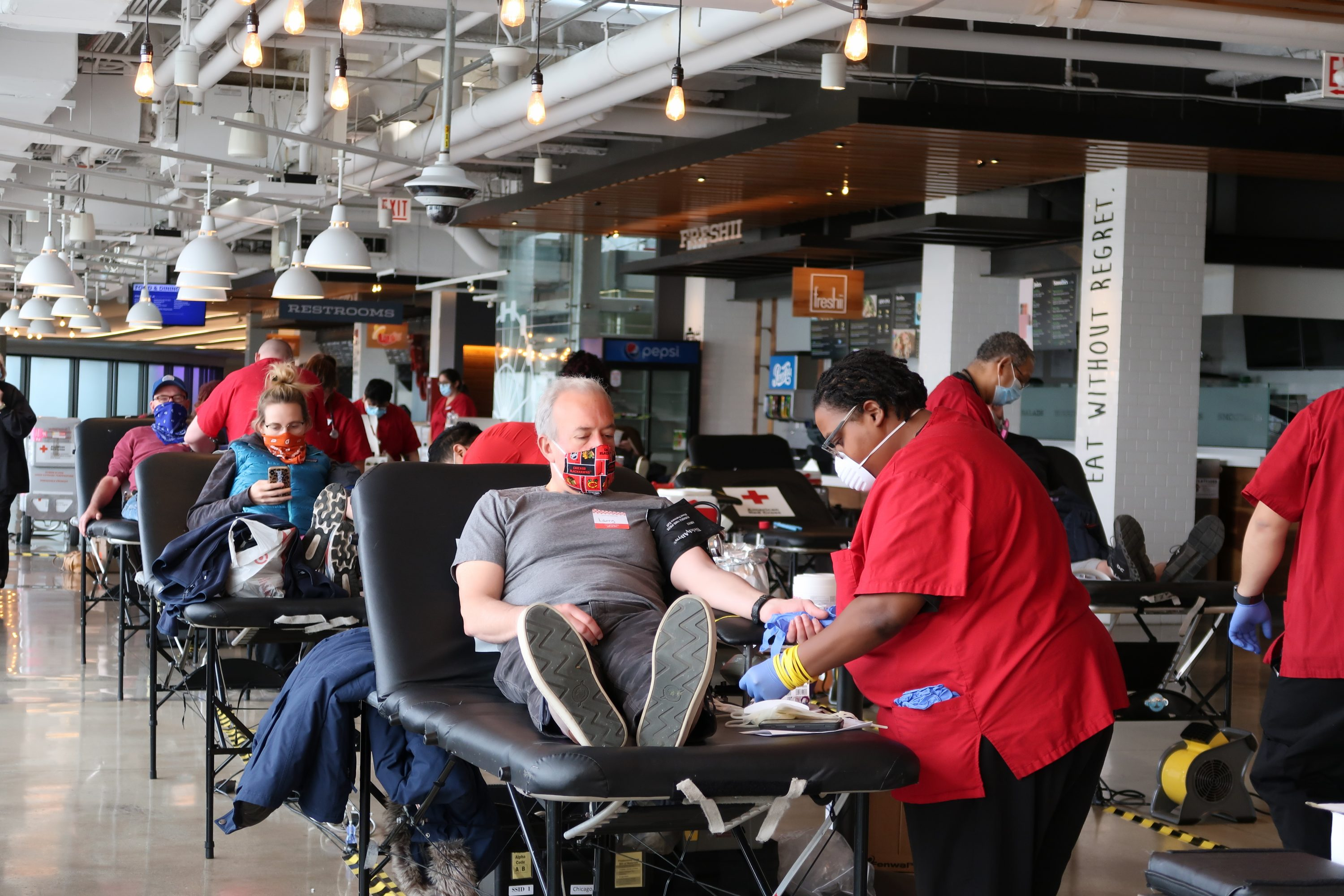 Navy Pier Hosts Third Blood Drive with American Red Cross on June 8